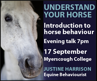 Justine Harrison Talk Myerscough (North YorkshireHorse)